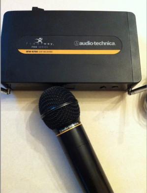 Imagen 1 de Arriendo de Micrófono inalambrico Audio Technica