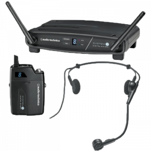 Arriendo de Microfono Inalámbrico Digital de Cintillo AudioTechnica