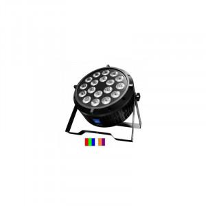 Arriendo de PAR LED SLIM 18X12W RGBWA+UV LED 6 EN 1 Big Dipper